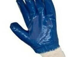 Перчатки вязанные, защитные от проколов и МБС