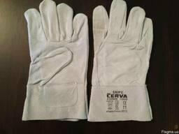 Рабочие перчатки кожаные. Цена указана верно!!!