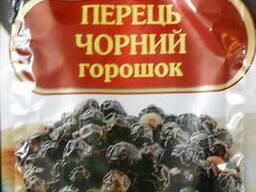 Перец черный горошек 15 гр. тм Мелисса.