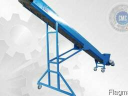 Передвижной ленточный конвейер модульной конструкции