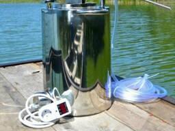 Перегонный куб 50л электрический, газовый нержавейка