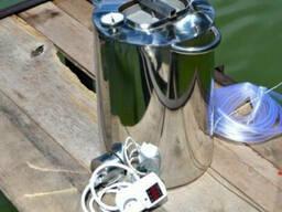 Перегонный куб 40л электрический, газовый нержавейка