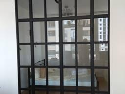 Межкомнатные loft перегородки (производство, монтаж)