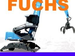 Перегружатель зерна Fuchs MHL 350 2001г 17730 моточасов ФУКС