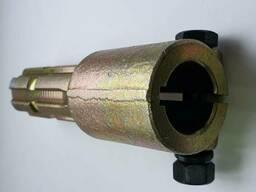 Переходник карданного вала (втулка 30мм, вал 6 шлиц. ) цинковое покрытие