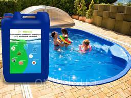 Перекись водорода (пергидроль) для бассейна 35%, 50% Чистая!О