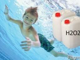Перекись водорода, пергидроль для бассейна