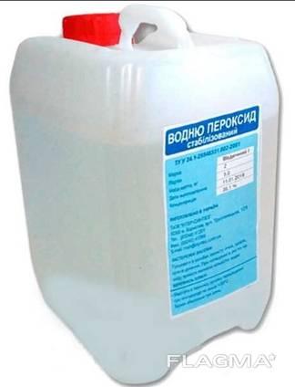 Перекись водорода (пергидроль, пероксид водорода), 5л
