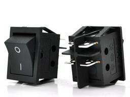Переключатель ON-OFF KCD4-201, 250VAC / 16A, 4 контакта, Black, Q50 ( 246*170*41 ) 0, 65 кг