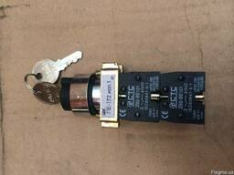 Переключатели ПЕ 172 ключ-бирка