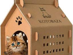 Переноска и домик для котов