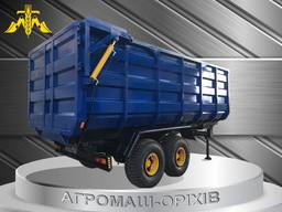 Переоборудование и ремонт тракторных прицепов 2ПТС-9, 3ПТС-12