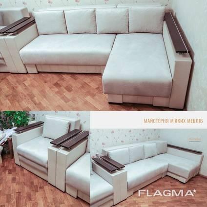 Перетяжка и ремонт мягкой мебели в Киеве