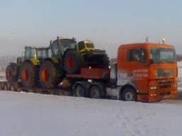 Перевезення тралами Львів