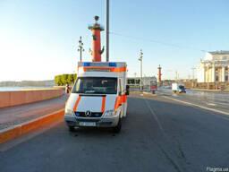 Перевезти больного из Украины в Россию, в Беларусь, в Польшу
