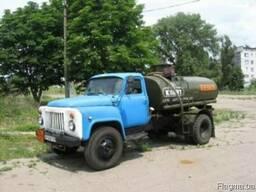 Перевозка дизельного топлива бензовоз, авто-топливозаправщик