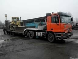Перевозка грузов и техники по Украине