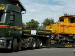 Услуги аренда трала по Украине негабарит тяжеловесные перево