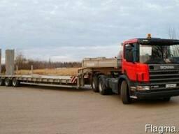 Перевозка комбайна по территории Украины