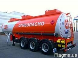 Перевозка нефтепродуктов (доставка ГСМ), услуги бензовоза