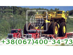 Перевозка негабаритных и стандартных грузов