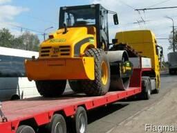 Перевозка спецтехники, перевозка негабаритных грузов