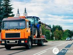 Перевозки трактора, эвакуатор для трактора