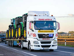 Перевозка тракторов по Украине Европе СНД