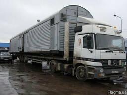 Перевозка вагончиков бытовок гаражей кунгов павильенов