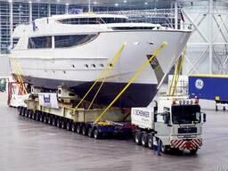 Перевозка яхт спецтраллами