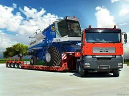 Доставка насыпных грузов автозерновозами.