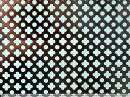 Перфорированные листы Фигурные отверстия для дизайна
