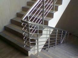Перила алюминиевые с шестью леерами