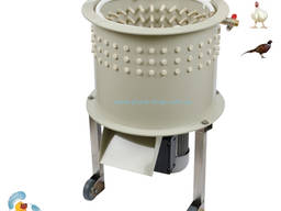 Перосъемная машина для перепелов и цыплят бройлеров «Профессионал-400П»