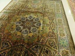 Персидские ковры 100% шелк ручная работа - фото 3
