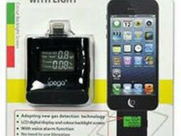 Персональный алкотестер Alco-Stop ALT-40 для iPhone 5 и выше с полупроводниковым. ..