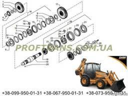 Первичный вал CASE 580 M шестерни кпп, синхрон Кейс