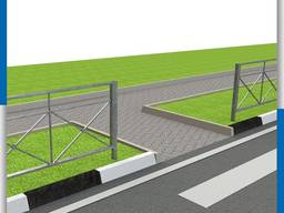 Пешеходные и газонные ограждения (металлические, железные). Заборчик для газона, клумбы