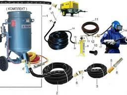 Пескоструйное оборудование (пескоструйки, компрессоры)
