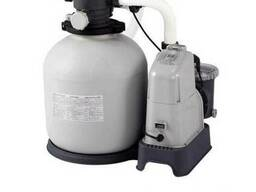 Песочный насос с хлоргенератором Intex 28676, мощностью 6 00