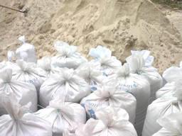 Песок белый 0, 03 м3 (мешок)