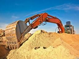 Песок ж/д вагонами, доставка в Одессу