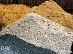 Песок, бетон, щебень, отсев в Одессе.