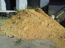 Песок карьерный с глиной в Мариуполе с доставкой