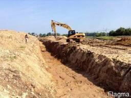 Песок карьерный в Одессе для строительства дорог