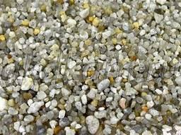 Песок кварц крашенный серебро, золото купить цена отправка