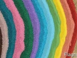 Песок кварцевый окрашенный