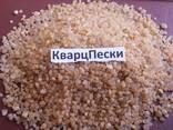 Песок Кварцевый Сухой Сеяный Для Пескоструйной Очистки Цена - фото 5
