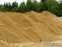 Песок карьерный чистый