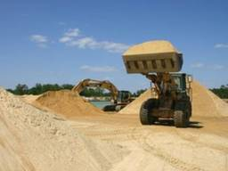 Песок овражный доставка